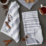 Asst Barn Red French Terry 3 Piece Dishtowel - 1