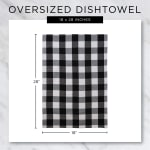 Mineral French Terry Variegated Stripe 3 Piece Dishtowel - 8