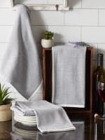 Mineral French Terry Variegated Stripe 3 Piece Dishtowel - 9
