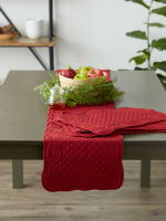 Cranberry Quilted Farmhouse Placemat (Set of 6) - 8