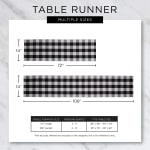 Cranberry Quilted Farmhouse Table Runner - 7