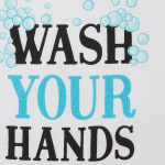 Wash Your Hands 3 Piece Dishtowel - 4