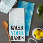 Wash Your Hands 3 Piece Dishtowel - 8