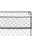 2 Tier Chicken Wire Spice Rack - 5