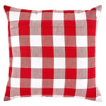 Buffalo Check Red/White Pillow Covers, Set of 2 - 2
