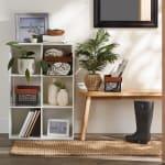 Asst Bronze Finish Farmhouse Set of 3 Baskets - 5