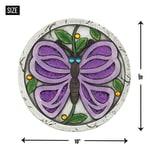 Purple Butterfly Garden Stepping Stone - 3