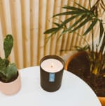 Calyan Wax Co Seaside/Citrus Soy Wax Candle Black Tumbler - 4