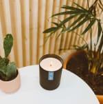 Calyan Wax Co Seaside/Citrus Soy Wax Candle Black Tumbler - 3