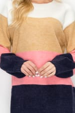 Skyla Colorblock Sweater - 12