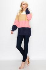Skyla Colorblock Sweater - 8