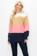 Skyla Colorblock Sweater - 10