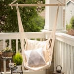 Cotton Padded Swing Chair - 4