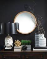 Mazara Black And White Vase - 3