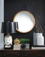 Mazara Black And White Vase - 1