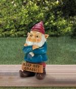 Keep Off Grass Grumpy Gnome - 2