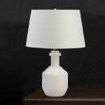 White Base Table Lamp - 1