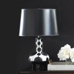 Dollop Black and White Table Lamp - 2