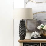Tao Charcoal Prism Table Lamp - 1