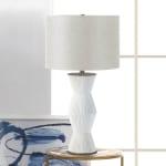 Gable White Ridges Table Lamp - 2