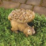 Woodland Squirrel Bird Feeder - 1