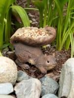 Woodland Squirrel Bird Feeder - 2