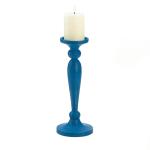 Cadiz Blue Artisan Candleholder - 3