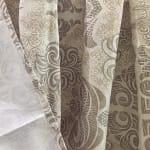 Dainty Home Mosaic Shower Curtain - 2