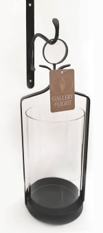 Hanging Hurricane Glass Wall Sconce - 5
