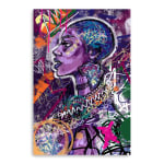 Black is Love Canvas Wall Art - 2
