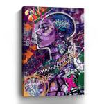 Black is Love Canvas Wall Art - 3