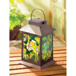 Solar-Powered Floral Lantern - 1
