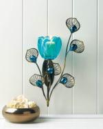 Peacock Blossom Single Sconce - 1