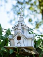 Little White Chapel Birdhouse - 1