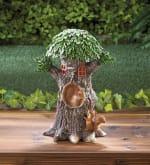 Solar Playful Squirrels Treehouse - 2