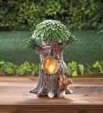 Solar Playful Squirrels Treehouse - 4