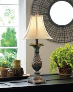 Tuscan Style Pineapple Table Lamp - 1