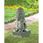 Lion Guardian Statue - 2