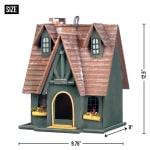 Storybook Cottage Birdhouse - 1