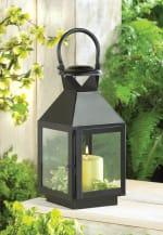 Black Revere Medium Candle Lantern - 6