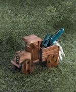 Rustic Antique Truck Planter - 1