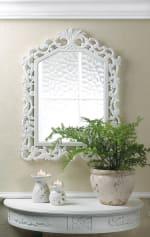 Fleur-De-Lis Wall Mirror - 1