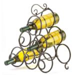 Scrollwork Wine Rack - 2