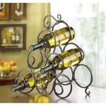 Scrollwork Wine Rack - 1