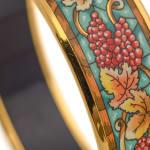 Hermes Enamel Bangle PM Wide Bracelet - 5