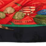 Hermes Christophe Colomb Decouvre l'Amerique Scarf - 2