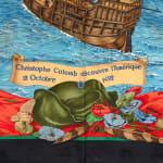 Hermes Christophe Colomb Decouvre l'Amerique Scarf - 3