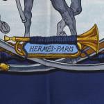 Hermes Marine et Cavalerie Scarf - 3