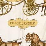 Hermes Coach & Saddle Scarf - 3