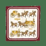 Hermes Coach & Saddle Scarf - 1